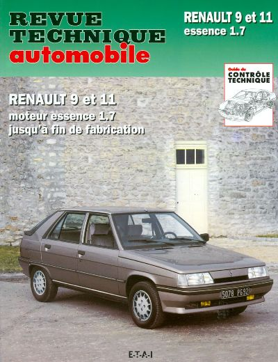 Renault 9 e 11 1721 cc 1983-89 RTA443