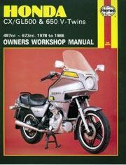 Honda CX/GL500 & 650 V-Twins 1978-86