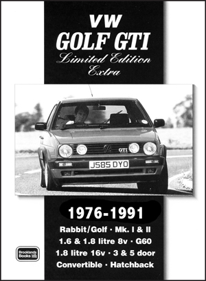 Volkswagen Golf GTi Limited Edition Extra 1976-91