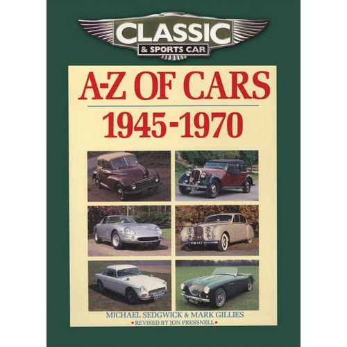 A-Z Cars 1945-1970's