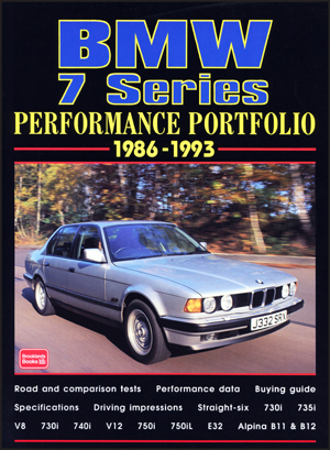 Bmw 7 Series Performance Portfolio 1986-93