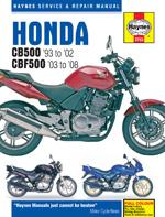 Honda CB 500 & CBF 500 1993-2008