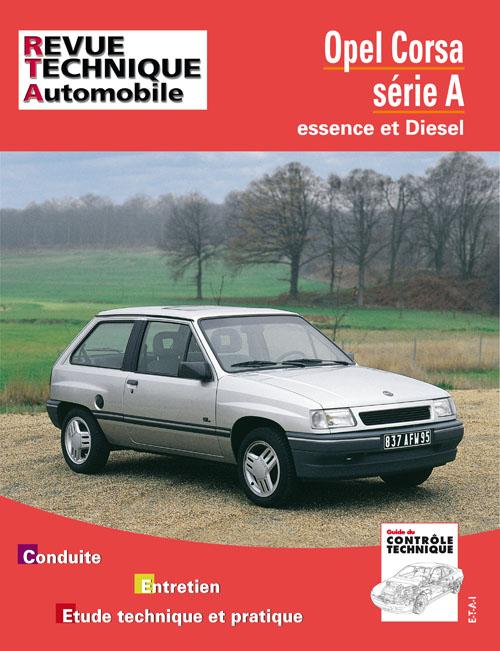 Opel Corsa A Essence, D/TD 1983-93 (RTA718)