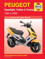 Peugeot Speedfight, Trekker & Vivacity 1996-08