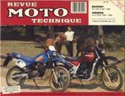 F062 Suzuki DR 125 S/Honda XLV 750 1983-85