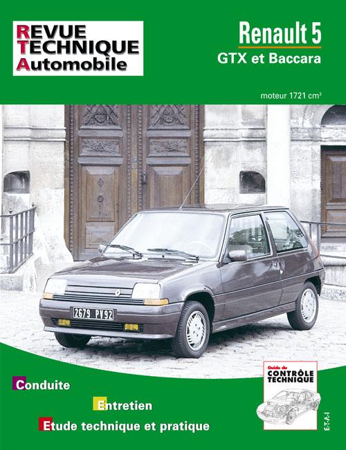 Renault 5 1987-90 ( mot 1721cc ) RTA518