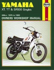 Yamaha XT, TT & SR500 Singles 1975-83