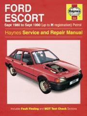 Ford Escort Petrol 1980-90