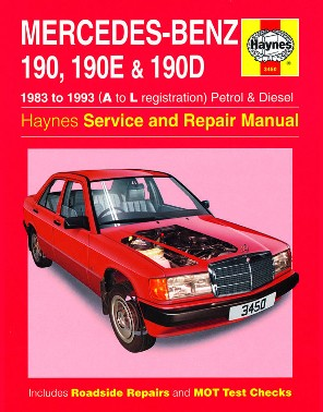 Mercedes Benz 190, 190E & 190D (W201) P&D 1983-93