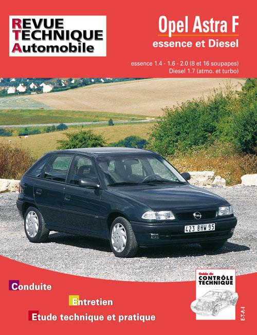 Opel Astra F Ess 1.4/1.6/2.0 + D 1.7 92-93 RTA547
