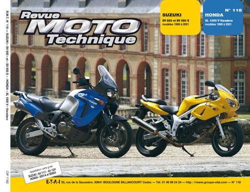 F118 Honda XL1000 V 1999-00 Suzuki SV 650/S 99-01