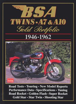Bsa Twins A7 & A10 Gold Portfolio 1946-62