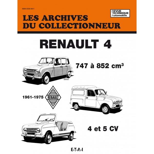 Renault 4-4 et 5 CV (1961-1975) (AC50)