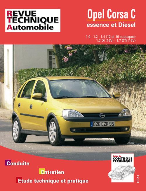 Opel Corsa Gasolina / D /TD desde 10-2000 (RTA741)