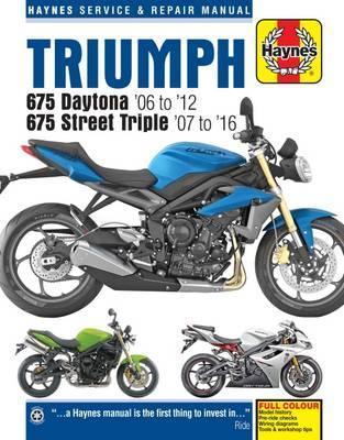 Triumph 675 Daytona & Street Triple 06-16