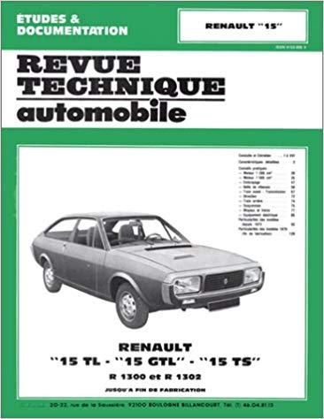 Renault 15 1972-79 (RTA 313)