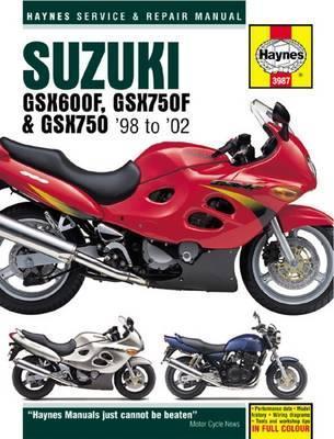 Suzuki GSX600/750F & GSX750 1998-03