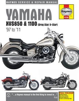 Yamaha XVS650 & 1100 Drag Star/V-Star 1997-11
