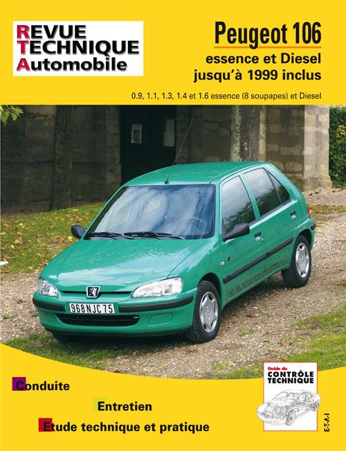 Peugeot 106 Essence & D jusqu'a 99 (RTA539)