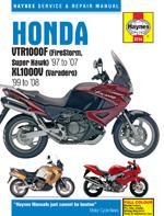 Honda VTR 1000F / XL 1000V 1999-08
