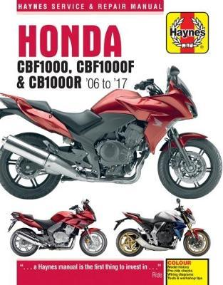 Honda CBF1000, CBF1000F, CB1000R 2006-17