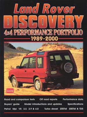 Land Rover Discovery Perf. Portfolio 1989-2000