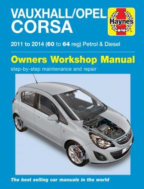 Vauxhall/Opel Corsa Petrol & Disel 2011-14
