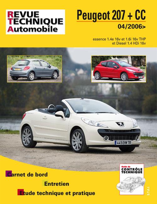 Peugeot 207 & CC - 2006 Essence+1.4 Hdi RTA B724