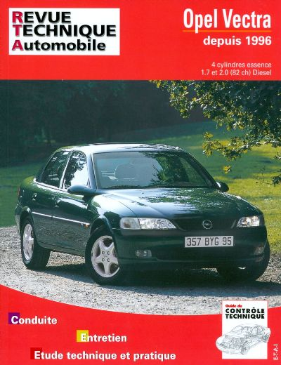 Opel Vectra Essence/Diesel desde 96 (RTA728)