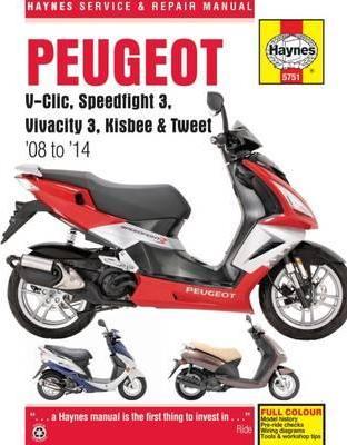Peugeot V-Clic, Speedfight,Vivacity,Kisbee 08-14