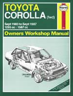 Toyota Corolla Petrol 1983-87