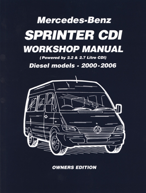 Mercedes Benz Sprinter CDI 2000-2006