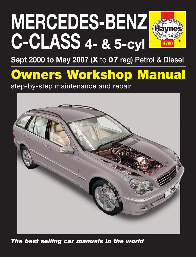 Mercedes Benz C-Class W203 Petrol & Diesel 2000-07