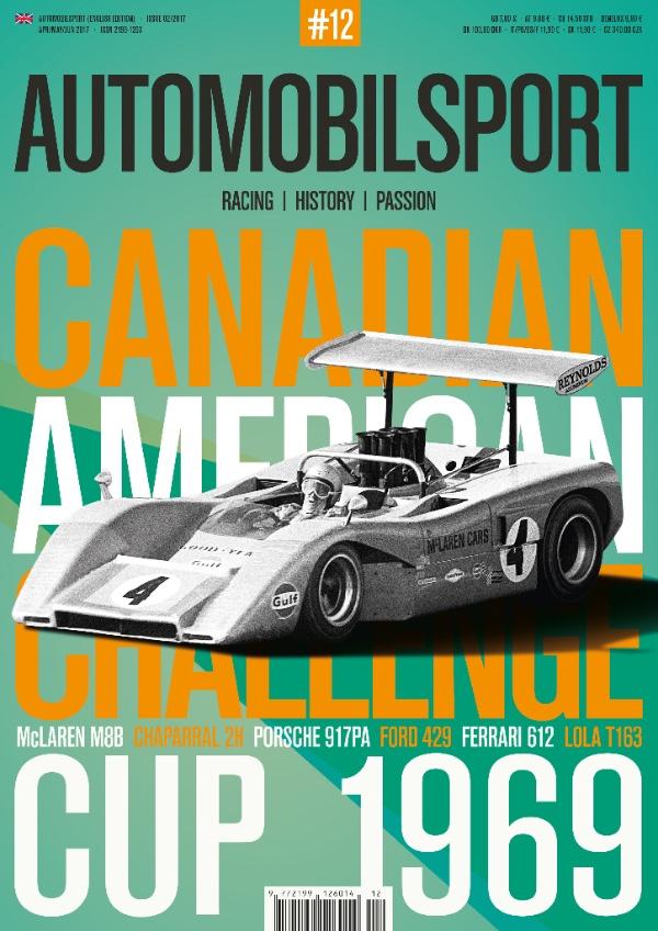 CAN-AM CUP 1969 (Vol. 12 Automobilsport)