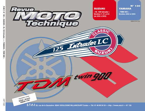 F130 Suzuki VL 125/Yamaha TDM 900
