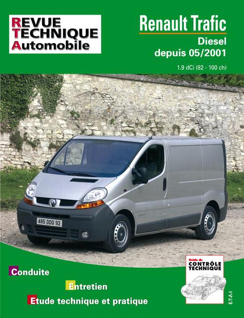 Renault Trafic Diesel depuis 05/2001 (RTA655)