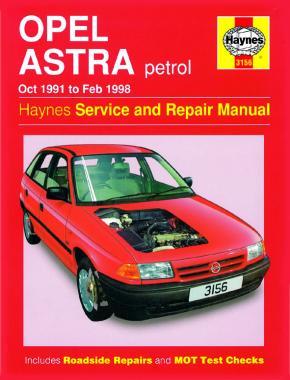 Opel Astra Petrol 1991-1998