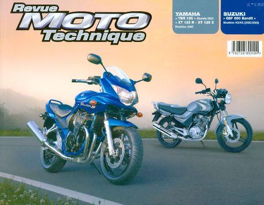 F139 Yamaha YBR125+XT125 Suzuki GSF650 2005-06