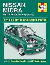 Nissan Micra Petrol 1993-2002