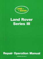 Land Rover Series 3 ( 4 & 6 cylinder ) Worshop Man