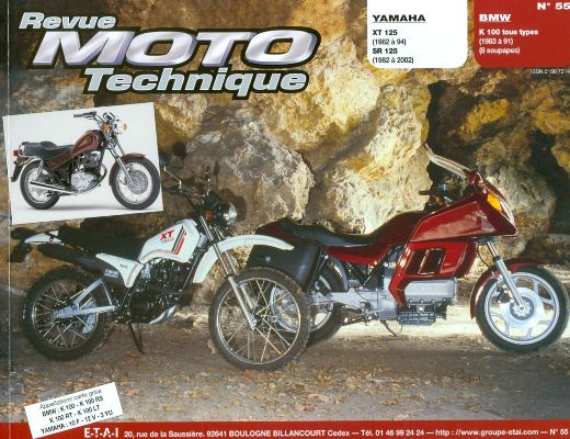 F055 Yamaha 125 1982-01 BMW K100 1983-91