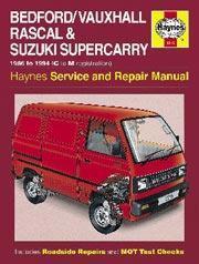 Bedford Rascal & Suzuki Supercarry 1986-94