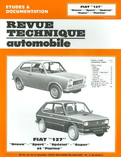 Fiat 127, Sport, Fiorino 1972-85 (RTA319)