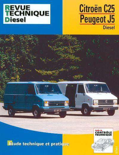 Citroën C25 Diesel/TD 1981-91 RTA126
