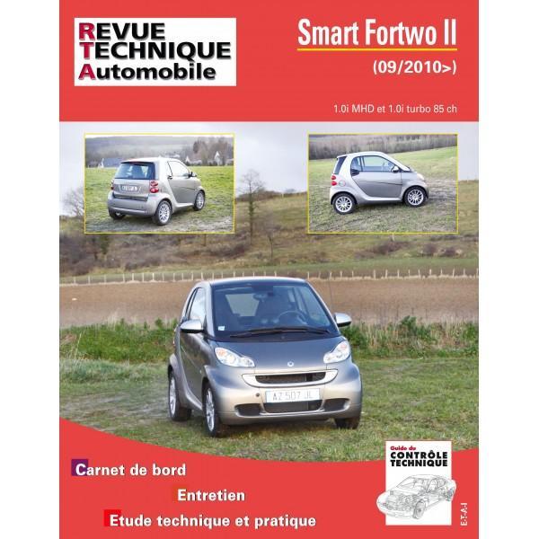Smart Fortwo II 1.0MHD, 1.0 TUR depuis 2010 RTA005