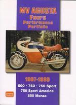 MV Agusta Fours Perfomance Portfolio 1967-80