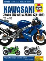Kawasaki ZX6-R Ninja 2003-2006