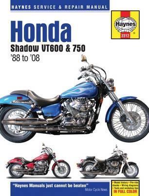 Honda Shadow VT600 & 750 1988-14