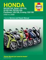 Honda 125 Scooters 2000-09