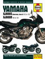 Yamaha XJ 600 S Diversion & XJ 600 N 1992-03